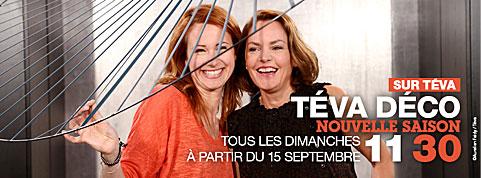 Télévision TEVA | support bois XPOT