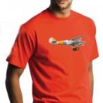tee-shirt-homme-rouge-avion-avec-plaisir-design
